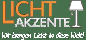 Lichtakzente - Lampen & Leuchten Onlineshop-Logo