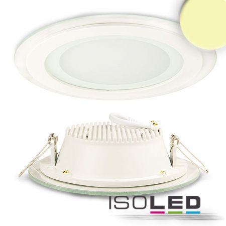 Outdoor LED downlight 12W warm white IP44