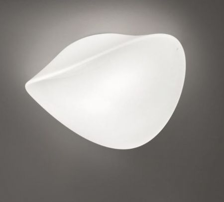 Vistosi opal glass wall/ceiling lamp Balance