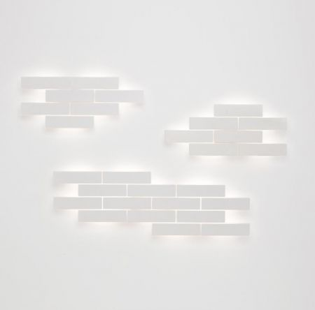 Carpyen Brooklyn LED wall light wood