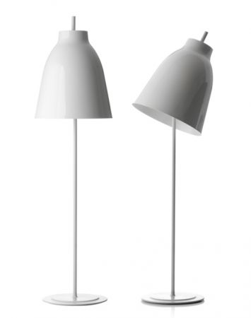Lightyears Caravaggio white floor lamp  - EEK: A++ (Spektrum: 0 bis 0)