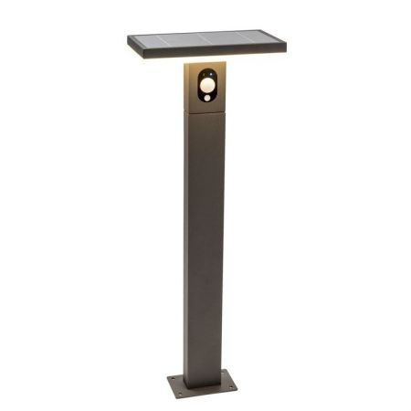 Solar LED floor lamp Ariane with sensor 100cm