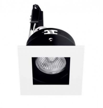 Planlicht square downlight Spot 100  - EEK: A (Spektrum: 0 bis 0)
