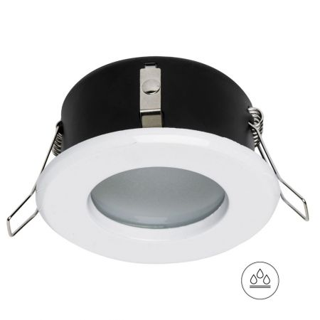 Recessed spotlight OH34 white, IP44