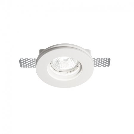 Ideal Lux gypsum downlight Samba Round D60