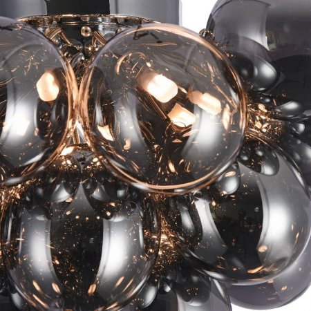 Maytoni smoky glass hanging lamp Balbo