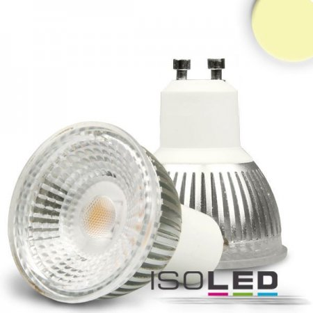 GU10 LED spotlight 6W warm white 70° dimmable
