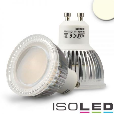 GU10 LED HV-reflector lamp 6W 120° neutral white