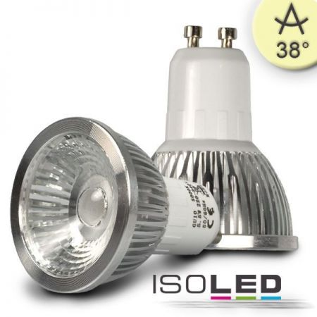 GU10 LED 5,5W HV spot 38° warm white, dimmable  - EEK: A+ (Spektrum: 0 bis 0)