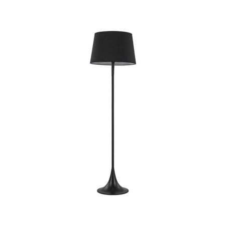 Stehlampe London PT1 von Ideal Lux H: 174cm in schwarz