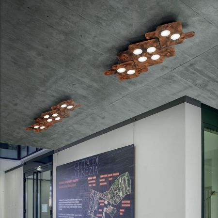 Braga LED Deckenleuchte Puzzle PL50