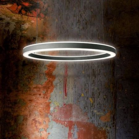 Planlicht LED ring pendant lamp Halo dimmable