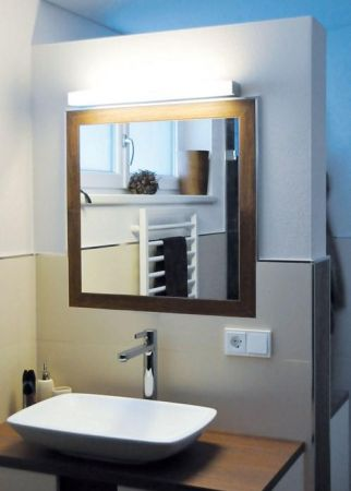 Planlicht LED mirror wall lamp p.mirror IP44  - EEK: A+ (Spektrum: 0 bis 0)
