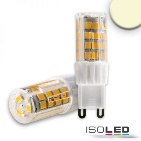 G9 LED lamp 5W warm white 2700K, dimmable