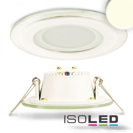 LED glass-downlight 8W neutral white, IP44