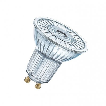 Osram GU10 LED lamp 8W warm white 827, dimmable 575lm
