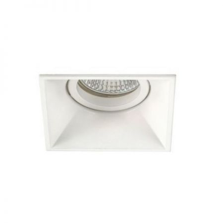 Mil square recessed spotlight white  - EEK: A++ (Spektrum: 0 bis 0)