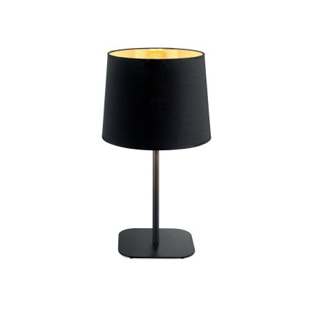 Ideal Lux table lamp Nordik black gold