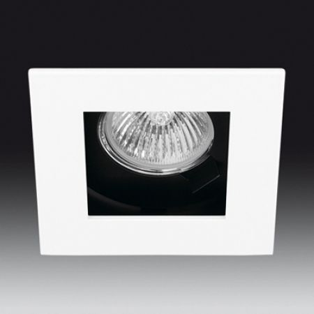 Onok square recessed spotlight 186 white  - EEK: A++ (Spektrum: A++ bis E)