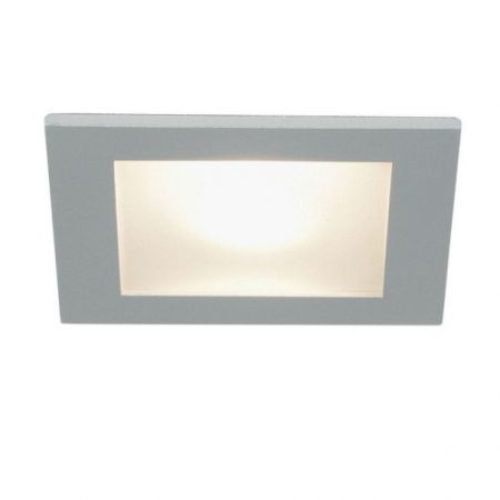 Planlicht square glass-downlight Spot 90, IP44  - EEK: A++ (Spektrum: A++ bis E)
