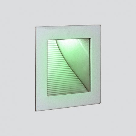 LED wall recessed lamp Sen square