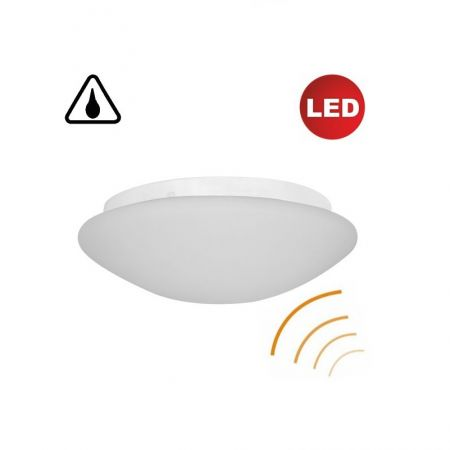 Sensor LED ceiling lamp OL2 15W, IP44