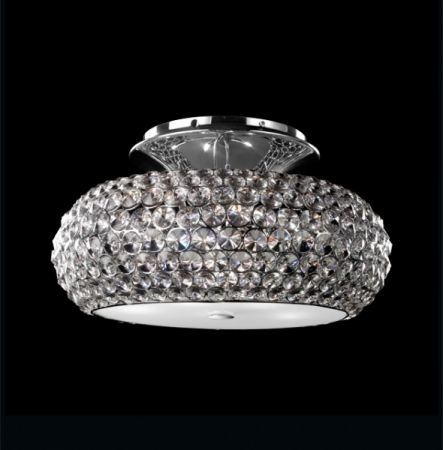 Illuminati crystal ceiling lamp Star  - EEK: A+ (Spektrum: 0 bis 0)