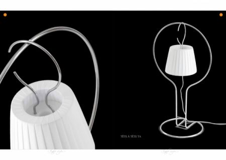 Ruggiu Tète á Tète LED table lamp