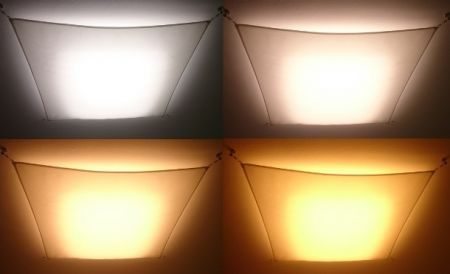 Light sail LED tunable white ceiling lamp  - EEK: A+ (Spektrum: 0 bis 0)