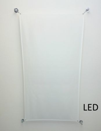 B.lux Veroca 3 LED light sail ceiling lamp