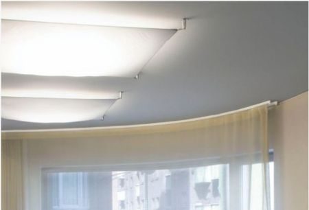 B.lux Veroca 1 ceiling lamp dimmable