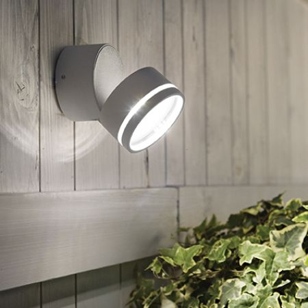 Ideal Lux round ceiling spotlight Omega