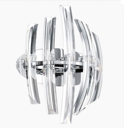 Drifter crystal wall lamp G9