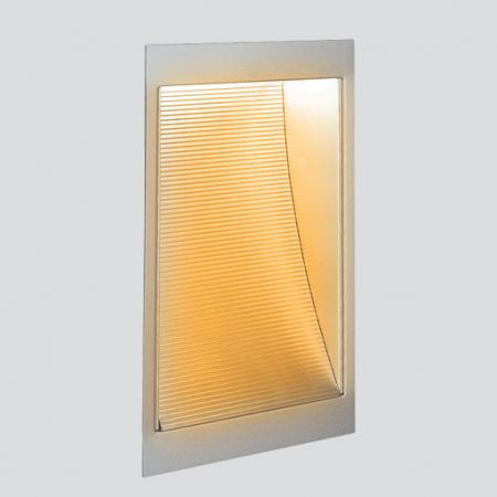 LED wall recessed lamp Wen square