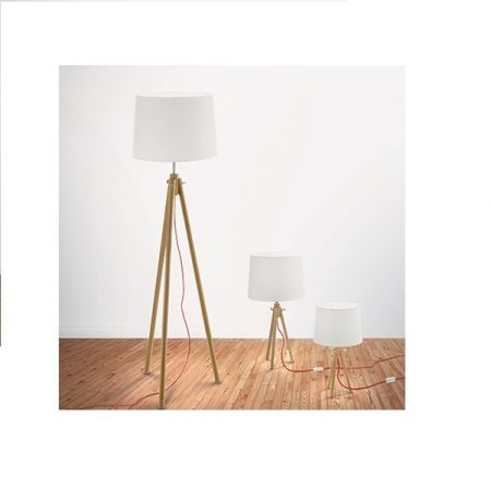 Ideal Lux tripod table lamp York H:46cm