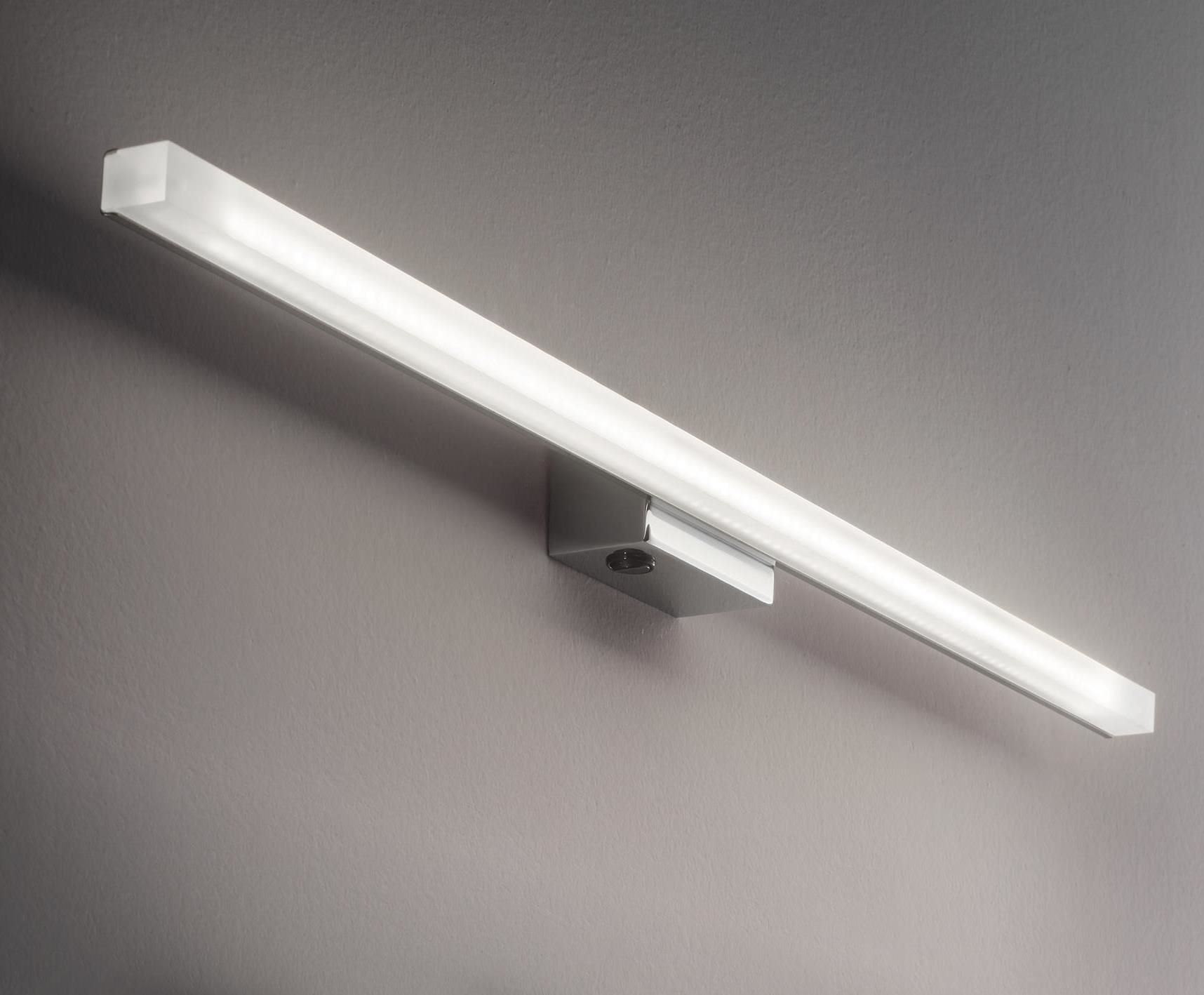Ideal Lux LED Spiegelleuchte Line Chrom