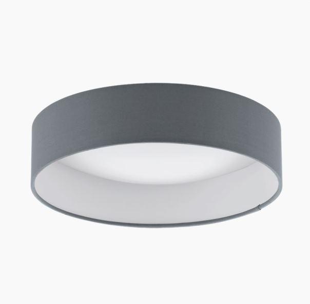 palomaro eglo led stoff deckenleuchte 32cm. Black Bedroom Furniture Sets. Home Design Ideas