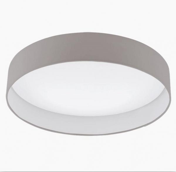 LED Deckenlampe Mit Stoff In Taupe 50cm Von Eglo