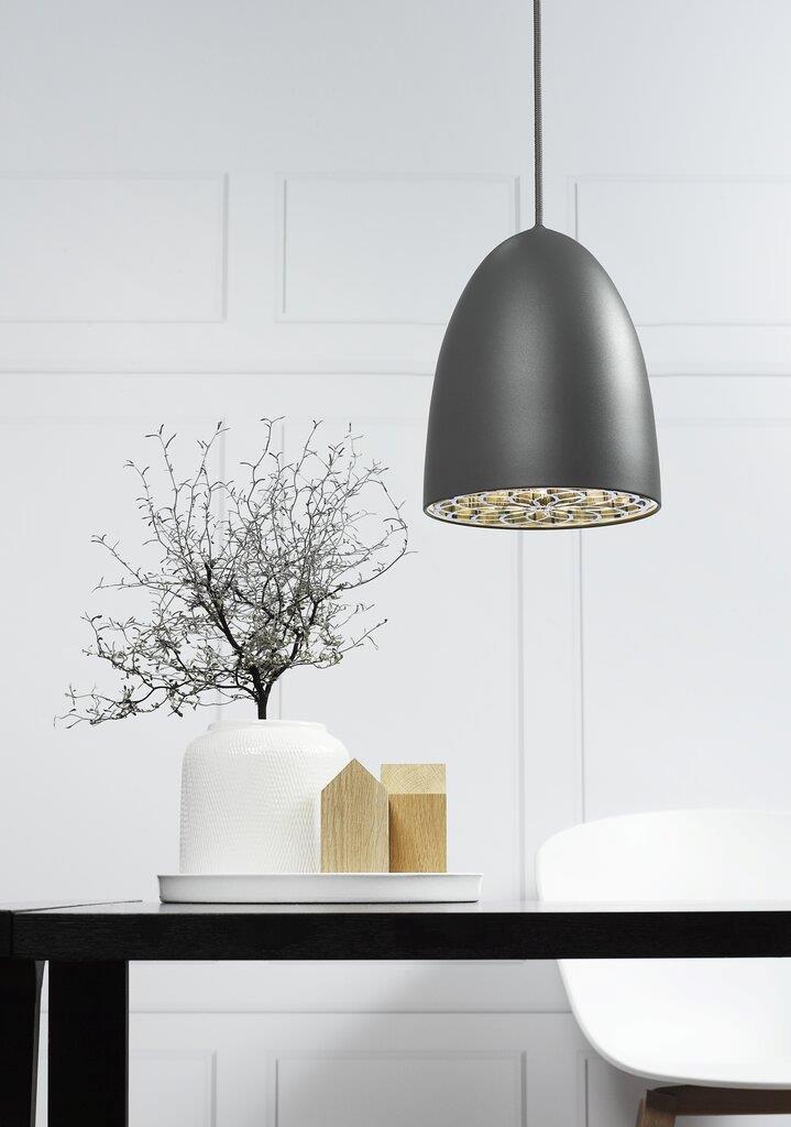 Nordlux pendant lamp Nexus 20 grey