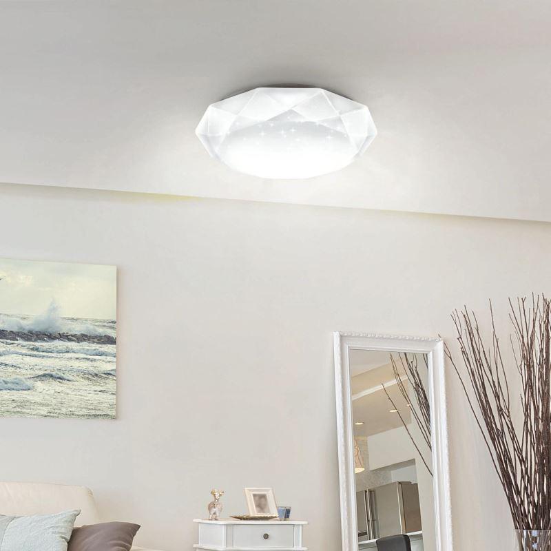 Maytoni LED ceiling lamp Crystallize buy now Lichtakzente.at