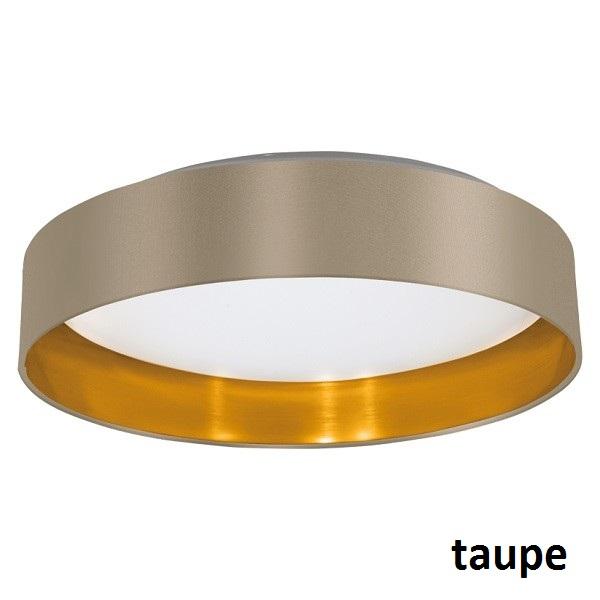 LED Stoff Deckenleuchte Maserlo