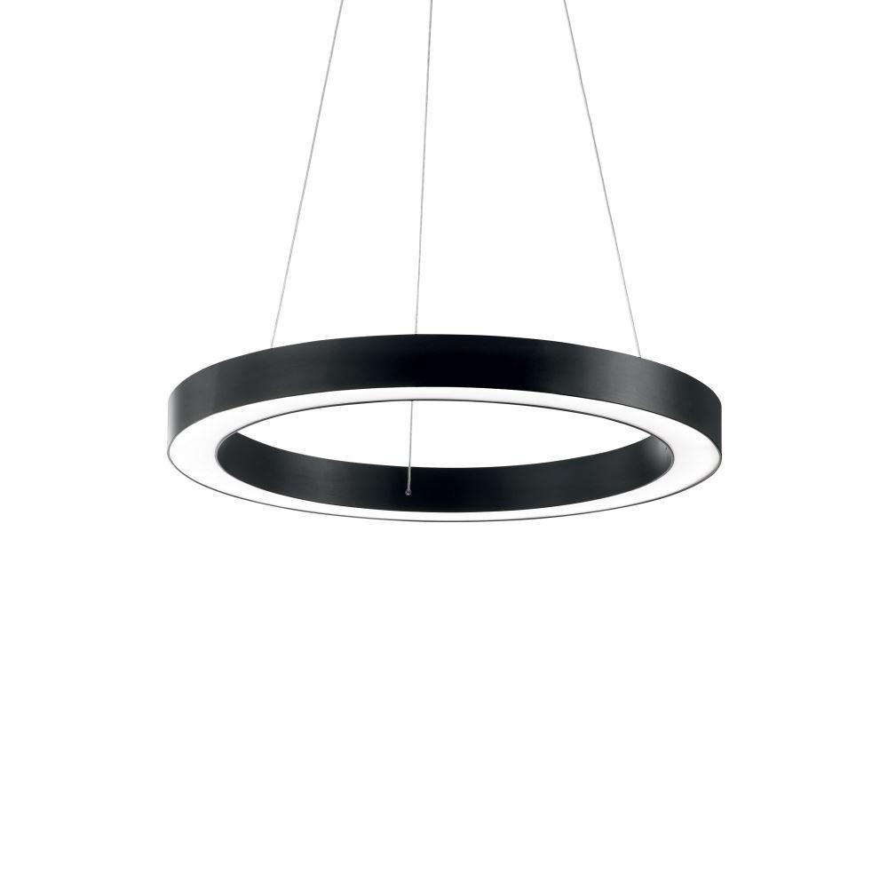Ideal Lux LED Ringleuchte Oracle Round schwarz Lichtakzente.at