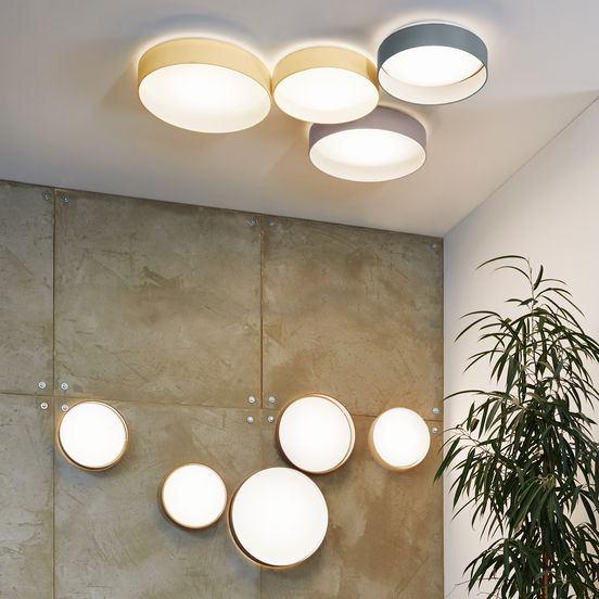 LED Deckenleuchte Palomaro dimmbar Lichtakzente.at