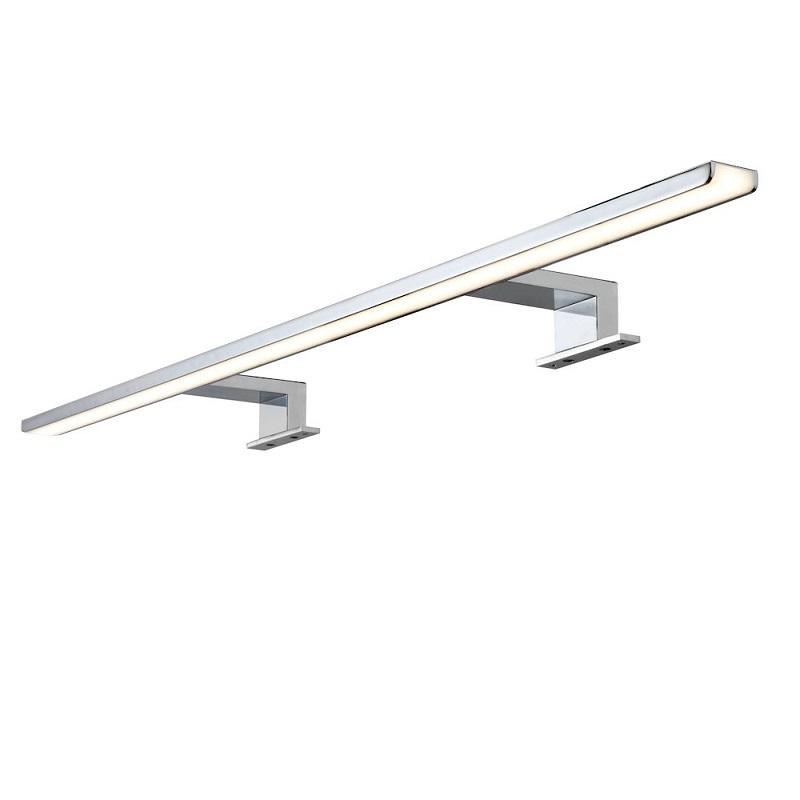 LED Spiegelleuchte Aalto Chrom 80cm- Lichtakzente.at