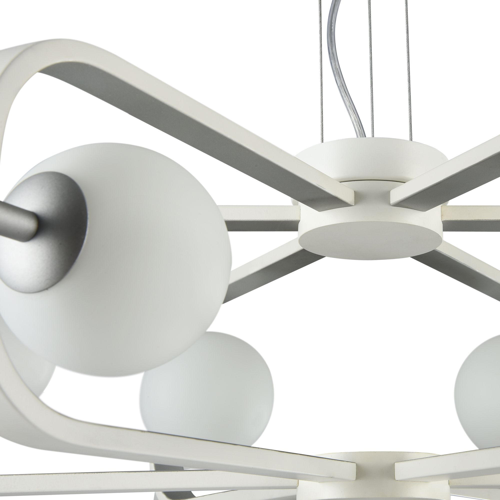 maytoni kronleuchter avola wei silber kaufen. Black Bedroom Furniture Sets. Home Design Ideas
