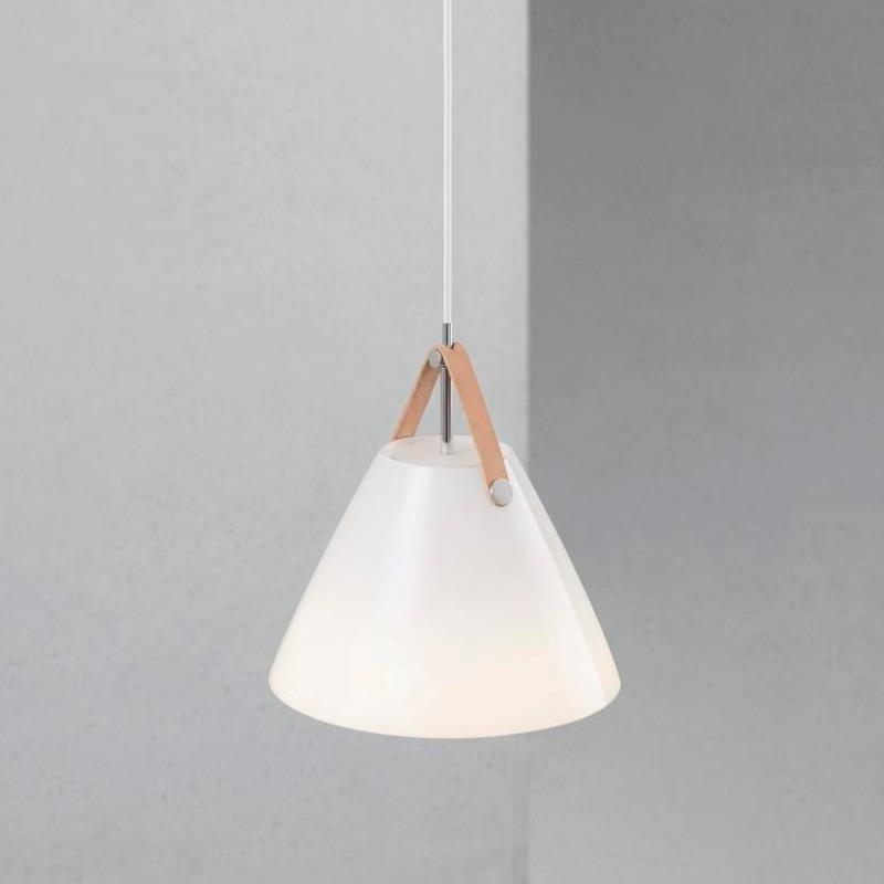 Strap 27 nordlux glas pendelleuchte wei kaufen for Lampen nordlux