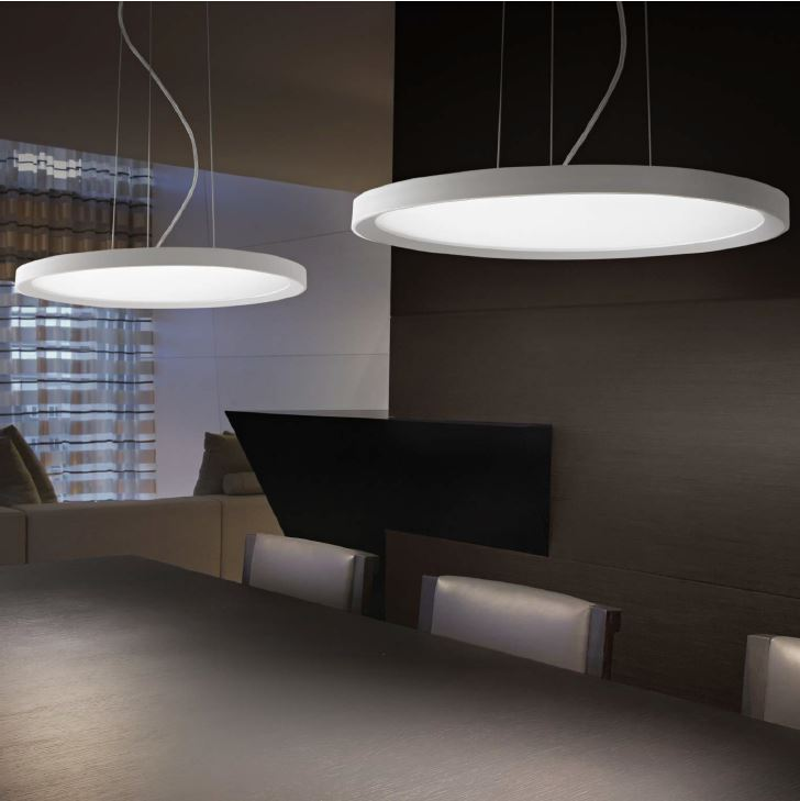 ideal lux ufo flat led ceiling lamp round buy now. Black Bedroom Furniture Sets. Home Design Ideas