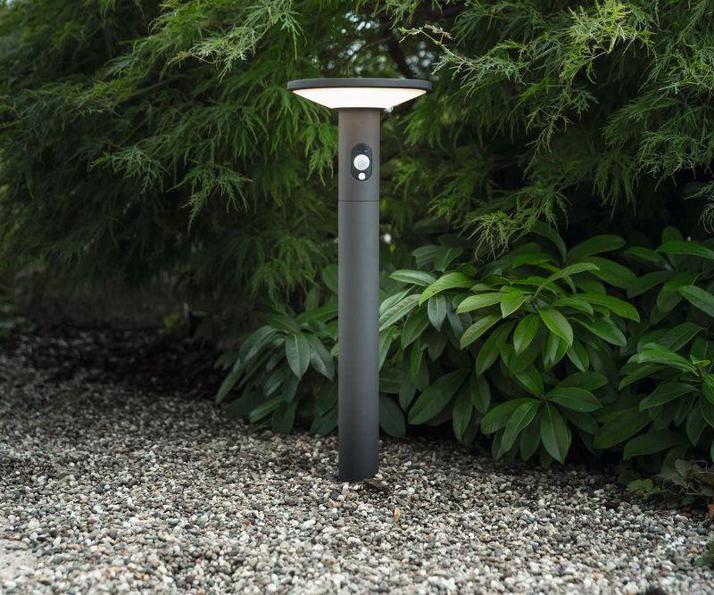 solar sensor led sockelleuchte karina 60cm. Black Bedroom Furniture Sets. Home Design Ideas