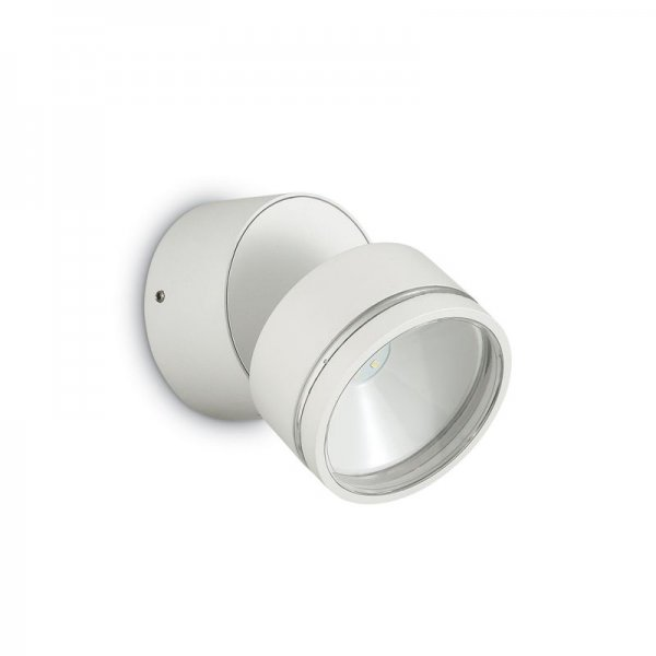 Ideal Lux round wall spotlight Omega