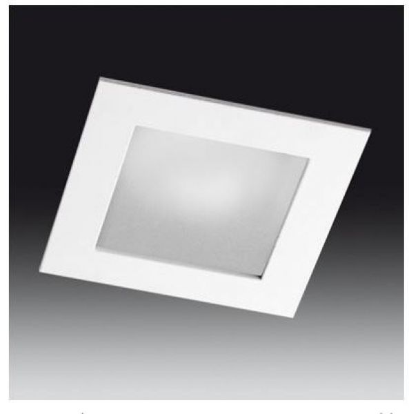Outdoor downlight square ref.185, IP44